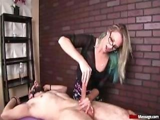 Experienced Masseuse Knows What Her Client Wants