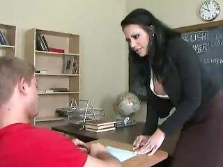Teacher Fucks Student In Bathroom