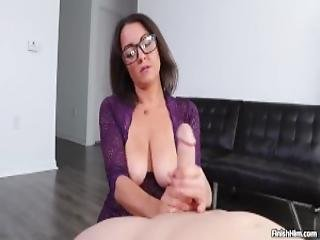 Hot Milf Harper Wright Loves Milking Big Cocks