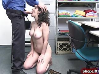 Busty Teen Licked And Pussy Rammed By Lp Officers Huge Dick