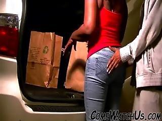 Ebony Garage Sex