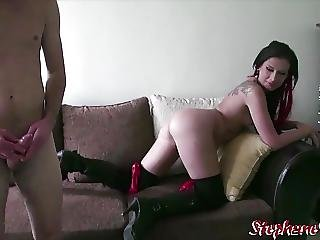 Amel Anoga Star Porno Francais Et Un Fan Chez Stephaneprodx