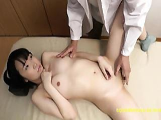 Rin Aoki Goes For A Doctors Checkup Gets Finger Squirted And Fucked In Examination Room