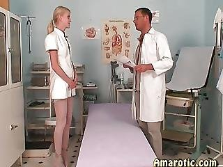 Latex, Medical, Nurse, Skinny, Small Tits, Teen