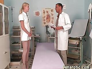 Latex, Medico, Infermiera, Magra, Tette Piccole, Adolescente
