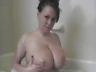 Bath, Big Boob, Boob, Fingering, Pornstar, Shower