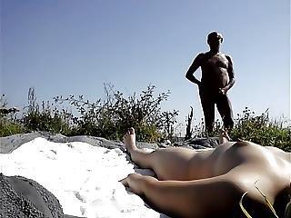 Nude Beach Flashing