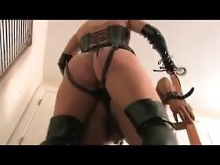 Mistress Strapon Fuck Slave Hard