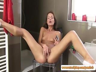 Urine Loving Eurobabe Handles Dildo