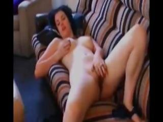 After Work Masturbation On My Couch
