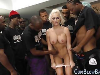 μαύρο, ξανθιά, πίπα, πούτσα, Facial, ομαδικό, ομαδικό σεξ, σκληρό, διαφυλετικό, φύλο, τσούλα, ρούφηγμα