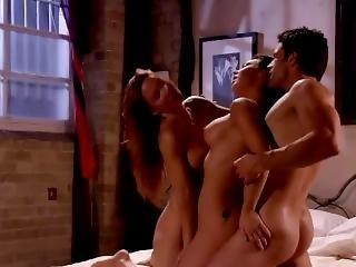 Softcore Pornstars Jennifer Korbin & Lana Tailor In Mff 3some - Lingerie