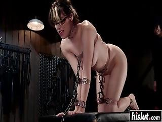 Horny Guy Tied Up Katt Anomia And Punished Her Tight Wet Cunt