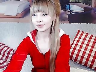 luder, blondine, europäisch, Jugendliche, webkam, weihnacht