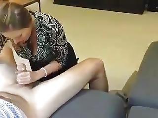 Lustful Wife Sucking Stranger Cock