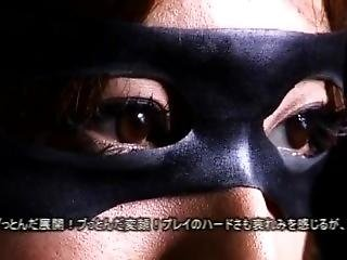Catsuit Japanese Heroine Captured Torture Tied Up Gag To Hold Saliva