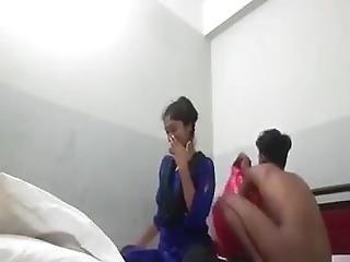 Vierer Alle Mädchen Massage Massage Vierer