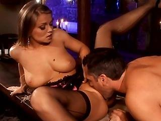 Gorgeous Slut Got Fucked In All Her Holes