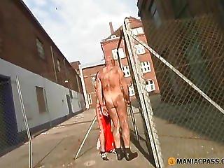 Guy Fucks Girlfriend Over The Net