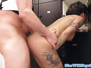 Squirting Slut Assfucked Roughly In Groupsex