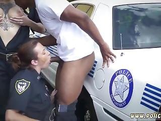 Cop Gagged I Will Catch Any Perp With A Ample Dark-hued Dick, And Gargle