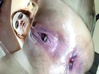 Girl With Dirty Pussy Farting