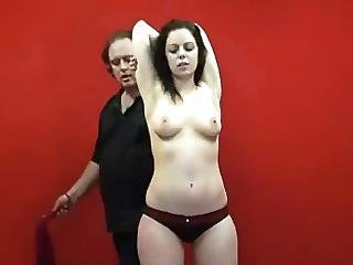 Bdsm, Brunette, Hairy, Jewish, Pale, Slave, Spanking, Young