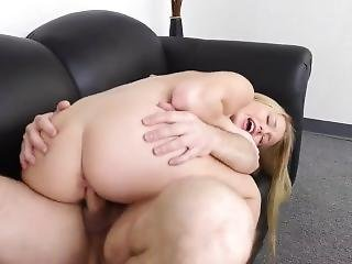 John Strong Breaks In Amateur Teen On Casting Couch
