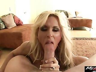 Holly Halston Is Mature Slut Fucked Hard And All Wet