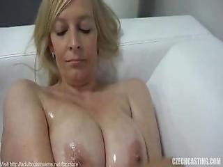 Czech Amateur Olga Fucks On Casting