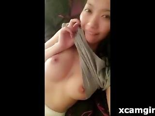 Asian Girl Showing