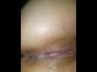 Watch Her Get A Huge Creampie