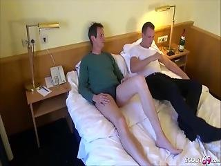 Two German Teen Hooker Get Paid For Fuck In Movie By 2 Guys
