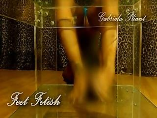 Feet Fetish Teaser Gabriela Plant Self Licking Footjob And Feet Tricks