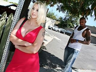 Mandy Sweet Picks Up A Black Guy And Fucks His Bbc