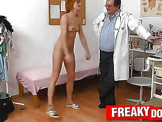 Gyno Patient Lucy Bell Anal Plug Treatment