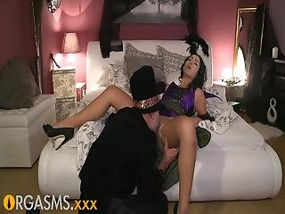 Orgasms Sinful Raven Haired Teenie  Girls 28 Summons Halloween Lover