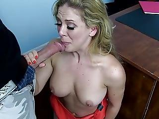 Blonde, Boss, Deepthroat, Fingering, Fucking, Milf, Mom, Young