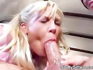 Teen Babysitters In Hot Fucking Action