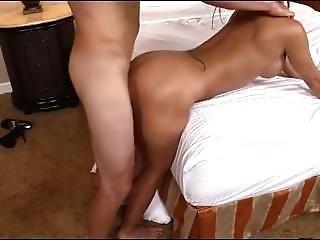 Hot Milf Latina Getting Fucked Doggy Style