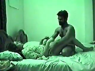 College Girl At Hostel Room Fucked By Lover
