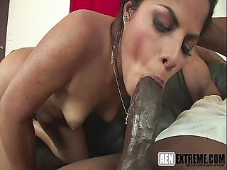 She Knows How To Suck Big Black Cock