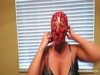 Girl Tape Bondage Mask