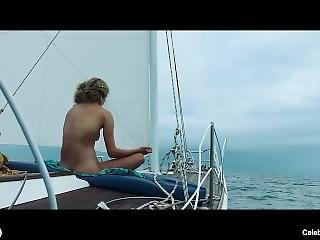 Celeb Actress Shailene Woodley Nude And Erotic Scenes From Adrift (2018)