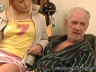 92.#grandpa #old Young #old Man Young Girl