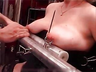 My Sexy Piercings Heavy Pierced Slave Tortured With Candle