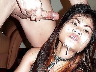Asiat, Brud, Bdsm, Bondage, Straffa, Tonåring, Thailändare
