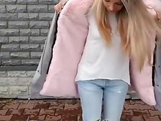 babe, blond, fetish, pels, russisk