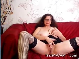 bryst, bedstemor, onani, alene, webcam, ludder