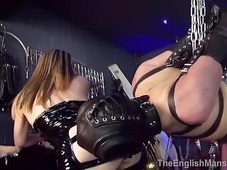 bondage, fangehull, fetish, håndjobb
